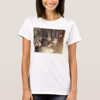 Rehearsal on the Stage by Edgar Degas T-Shirt
