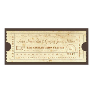 Rehearsal or Welcome Dinner - Ticket Invitation