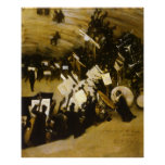 Rehearsal Pasdeloup Orchestra, Sargent Vintage Art Poster