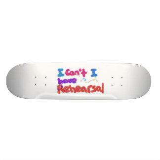 Rehearsal Skatebord Skate Decks