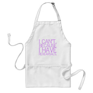 Rehearsals Apron (lavender)