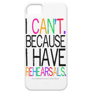 Rehearsals iPhone 5 Case