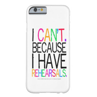 Rehearsals iPhone 6 case