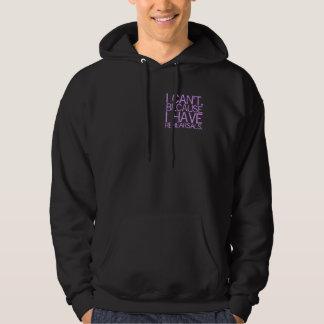 Rehearsals (lavender) Dark Hoodie