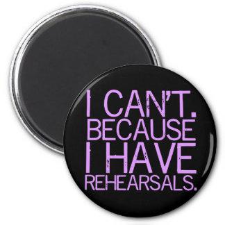 Rehearsals (lavender) Magnet