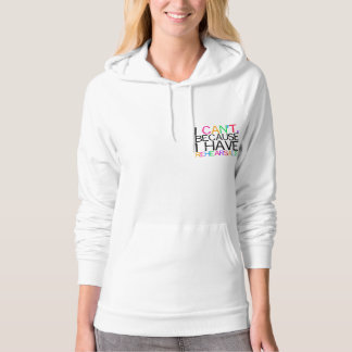 Rehearsals Multi-Color Women's Hoodie