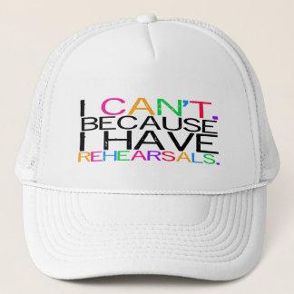 Rehearsals Trucker Hat (customizable)