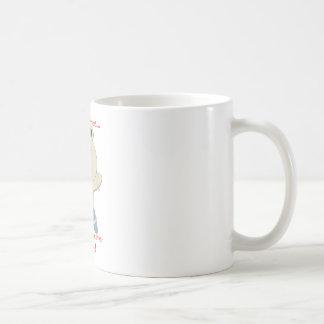 rehén del hámster taza básica blanca