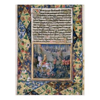Rehoboam que emprende guerra contra Jeroboam Postales