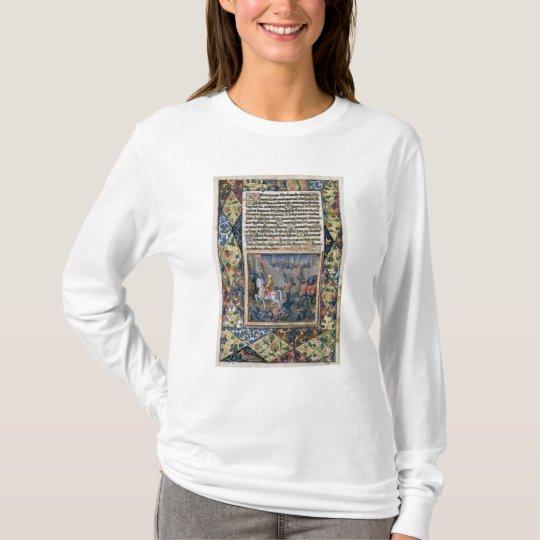 Rehoboam waging war against Jeroboam T-Shirt