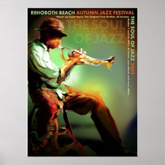 Rehoboth Beach Autumn Jazz Fest 2005 Poster