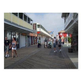 Rehoboth Beach Boardwalk PostCard