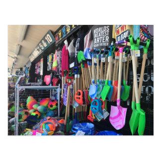 Rehoboth Beach Boardwalk Variety Store Toys Photo Postcard