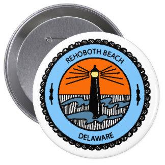 Rehoboth Beach. 4 Inch Round Button