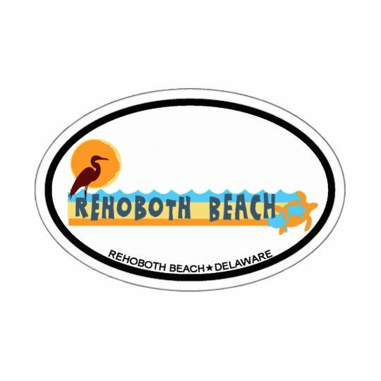 Rehoboth Beach. Cutout