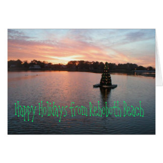 Rehoboth Beach, DE Holiday Card