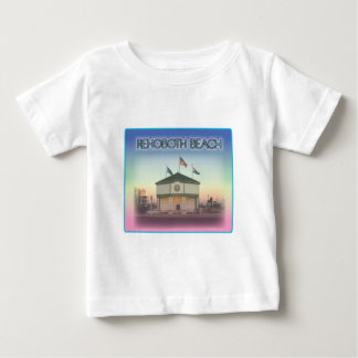 Rehoboth Beach Delaware - Rehoboth Ave Scene Baby T-Shirt