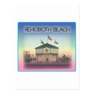 Rehoboth Beach Delaware - Rehoboth Ave Scene Postcard