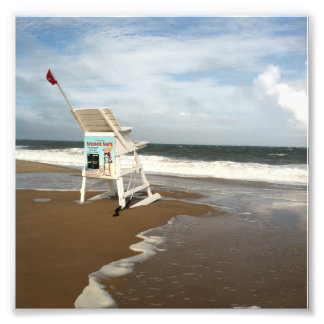 Rehoboth Beach Lifeguard Stand Photo Print