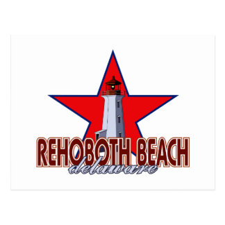 Rehoboth Beach Lighthouse Postcard