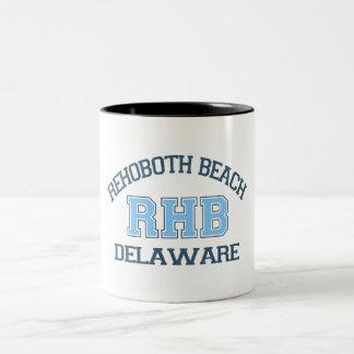 Rehoboth Beach. Two-Tone Coffee Mug