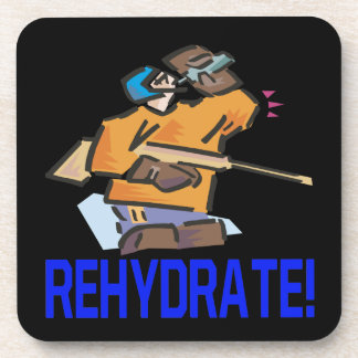 Rehydrate Drink Coaster