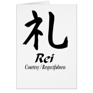 """""""Rei"""" Card"""