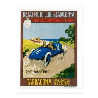 Reial Moto Club de Catalunya Postcard
