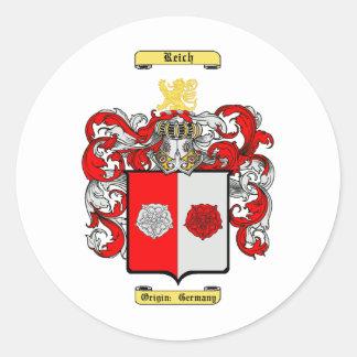 Reich Classic Round Sticker