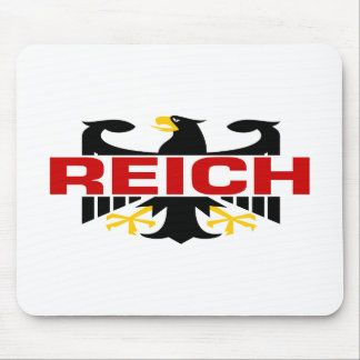 Reich Surname Mouse Pad