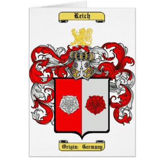 Reich Tarjeta De Felicitación