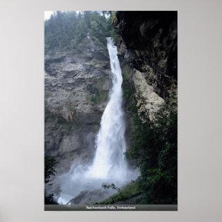 Reichenbach Falls, Switzerland Print