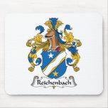 Reichenbach Family Crest Mouse Mats