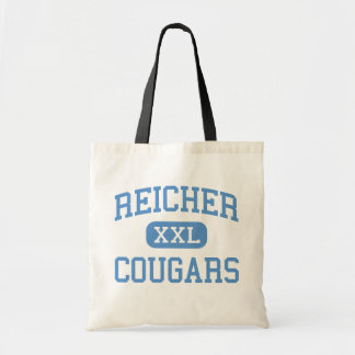 Reicher - Cougars - High School - Waco Texas Budget Tote Bag
