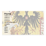 Reichsbanner And Imperial Sword Detail Business Card