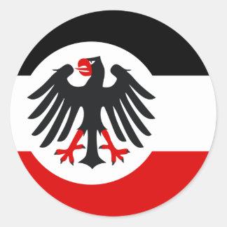 Reichsdienst1933 1935, Germany Classic Round Sticker