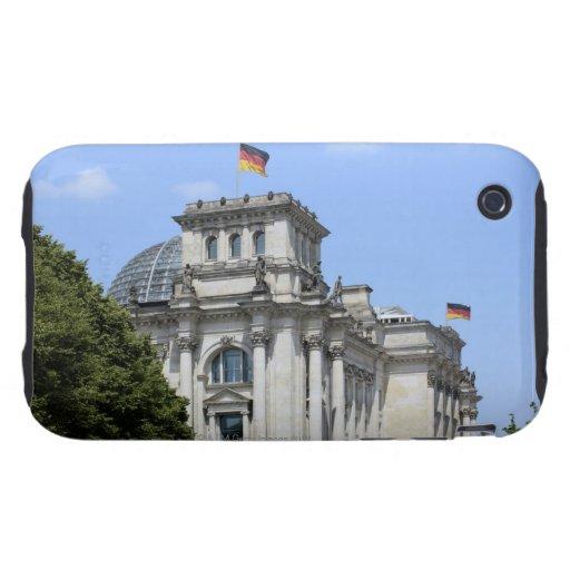 Reichstag, Berlín, Alemania 2 Tough iPhone 3 Cárcasas