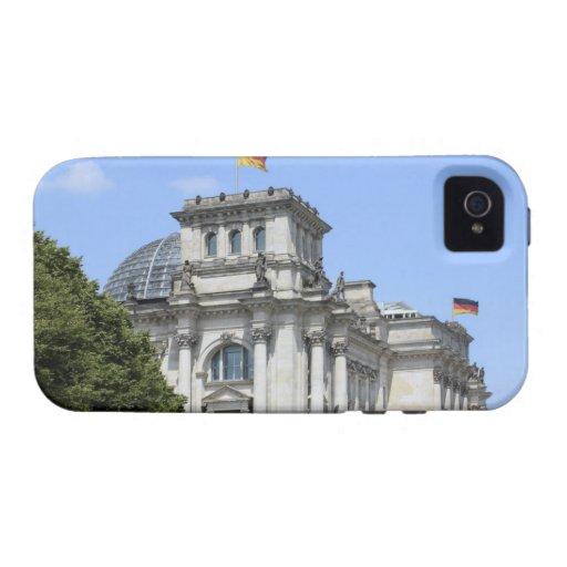 Reichstag, Berlín, Alemania 2 iPhone 4 Fundas