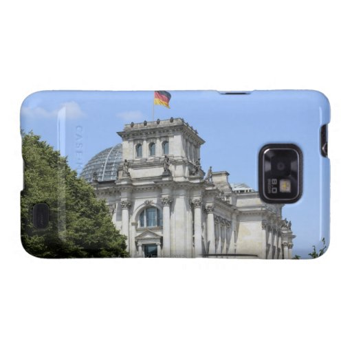 Reichstag, Berlín, Alemania 2 Galaxy S2 Carcasa