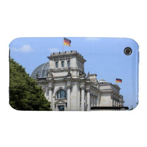 Reichstag, Berlín, Alemania 2 iPhone 3 Case-Mate Carcasas