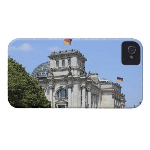 Reichstag, Berlín, Alemania 2 Case-Mate iPhone 4 Cárcasa