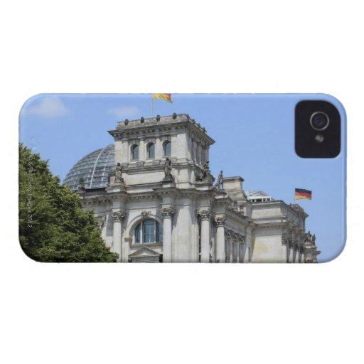 Reichstag, Berlín, Alemania 2 Case-Mate iPhone 4 Fundas