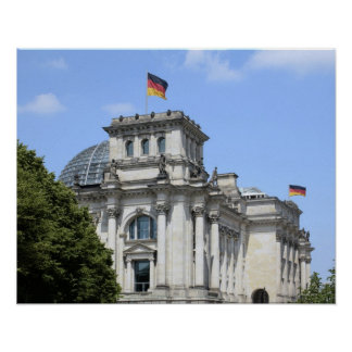 Reichstag, Berlin, Germany 2 Poster