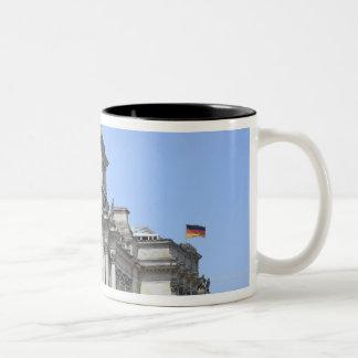 Reichstag, Berlin, Germany 2 Two-Tone Coffee Mug