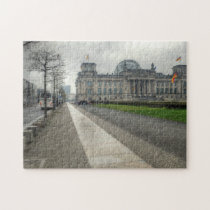 Reichstag Berlin Germany. Jigsaw Puzzle