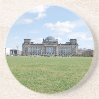 Reichstag building - Berlin, Germany Beverage Coasters