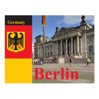 Reichstag building. Berlin, Germany Post Card