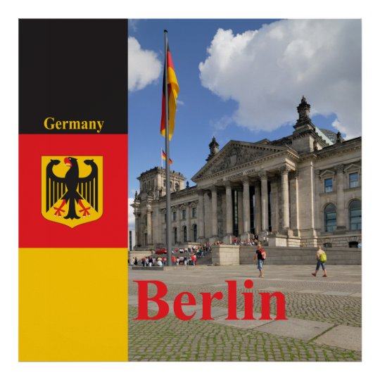 Reichstag building. Berlin, Germany Poster