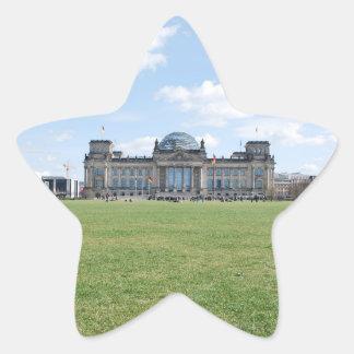 Reichstag building - Berlin, Germany Star Sticker