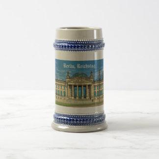 Reichstag Building in Berlin Beer Stein